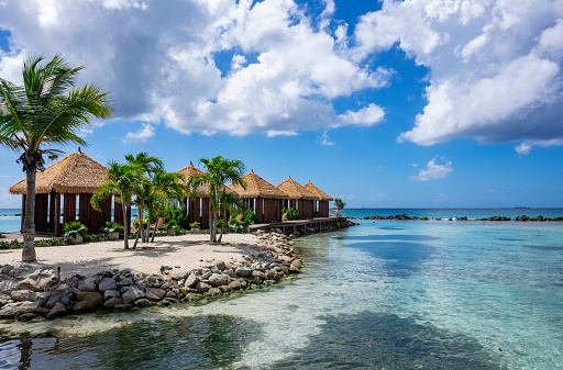 One of Aruba's many beautiful beaches, brought to you by JetBlue Vacations.